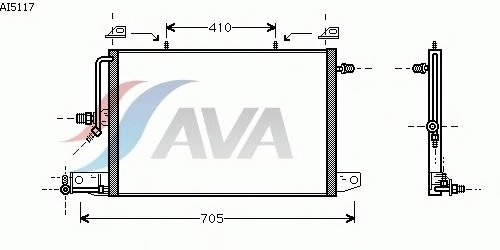Конденсатор, кондиционер AVA QUALITY COOLING AI5117