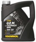 MANNOL 7701 O.E.M. for Chevrolet Opel 5w-30