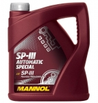 MANNOL SP-III Automatic Special масло для АКПП